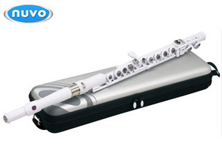 (お取り寄せ)NUVO Student Flute White FGSFWH ヌーボ プラスチック製フルート ホワイト Student Flute White(国内正規品)