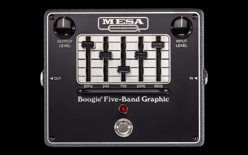 MESA BOOGIE FIVE-BAND GRAPHIC メサブギ イコライザー