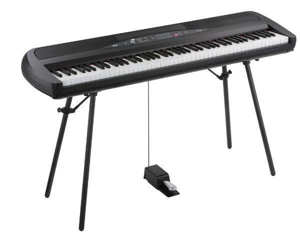 KORG SP-280 BK(SP280BK)コルグ デジタルピアノ*スタンド付属(組立必要)
