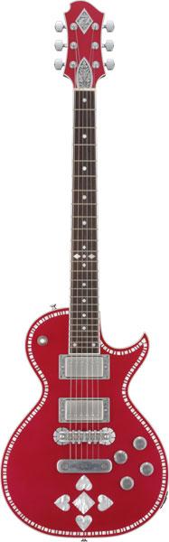 (お取り寄せ)ZEMAITIS A24SU RUBY HEART ゼマイティス エレキギター ゼマティス