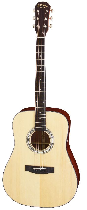 (特典満載)Aria Dreadnought AD-211 N/Natural アリアドレッドノート アコースティックギター