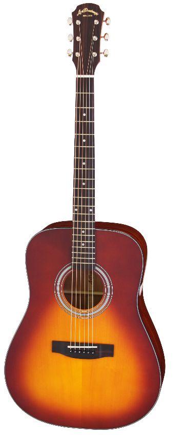 (特典満載)Aria Dreadnought AD-211 TS(Tobacco Sunburst) アリアドレッドノート アコースティックギター