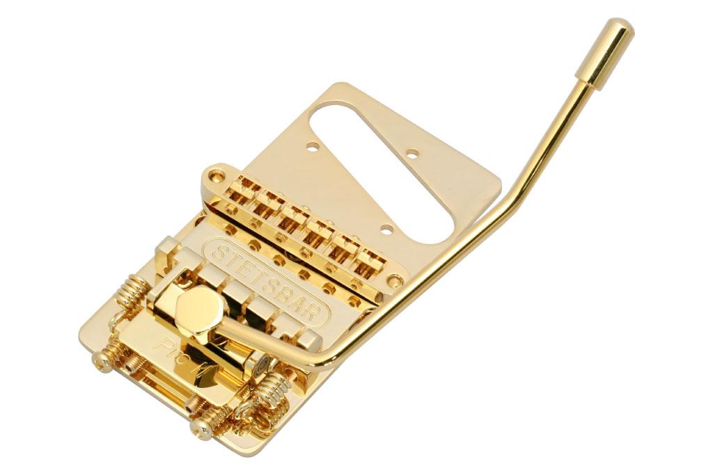 トレモロシステム STETSBAR TL用トレモロブリッジ T-STYLE GOLD ゴールド