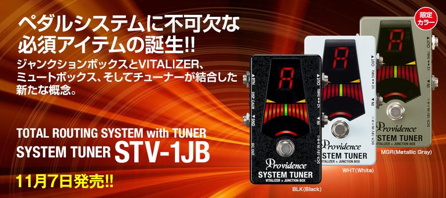 (11月7日頃入荷予定:予約受付中!)Providence システムチューナー STV-1JB MGR メタリックグレイ *限定カラー SYSTEM TUNER STV1JB MGR