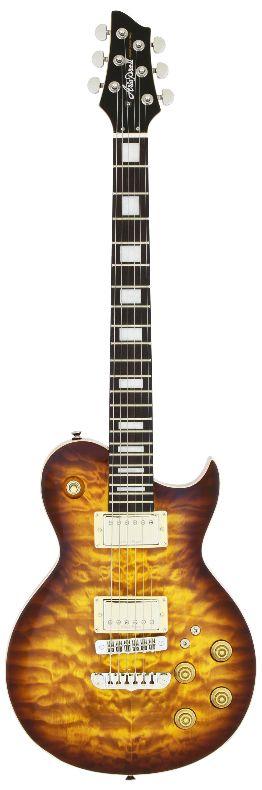 (お取り寄せ)AriaProII PE-480BS(Brown Sunburst) アリアプロ2 エレキギター PE480BS*ソフトケース付属