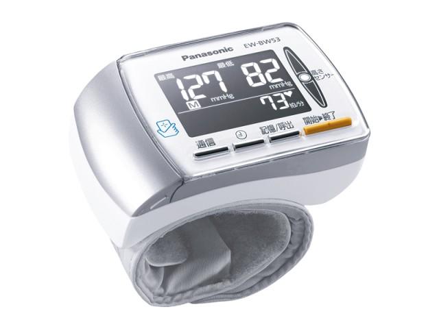 (お取り寄せ)パナソニック Panasonic(手首式血圧計)手くび血圧計 EW-BW53-W ホワイト