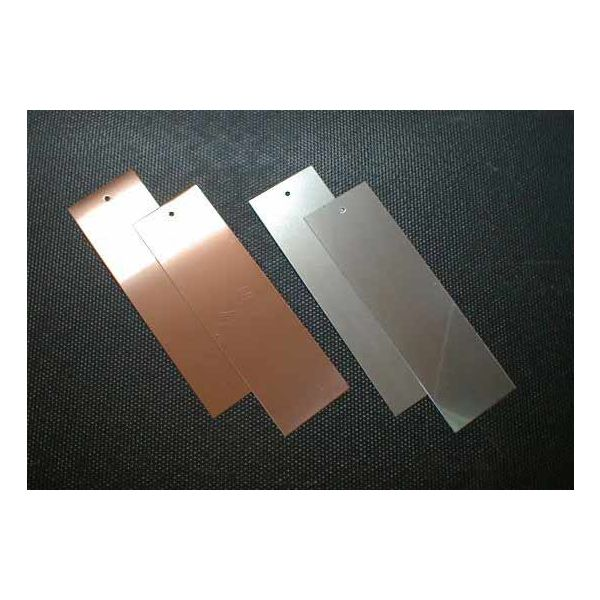 (レモン電池用)亜鉛板×2枚、銅板×2枚セット