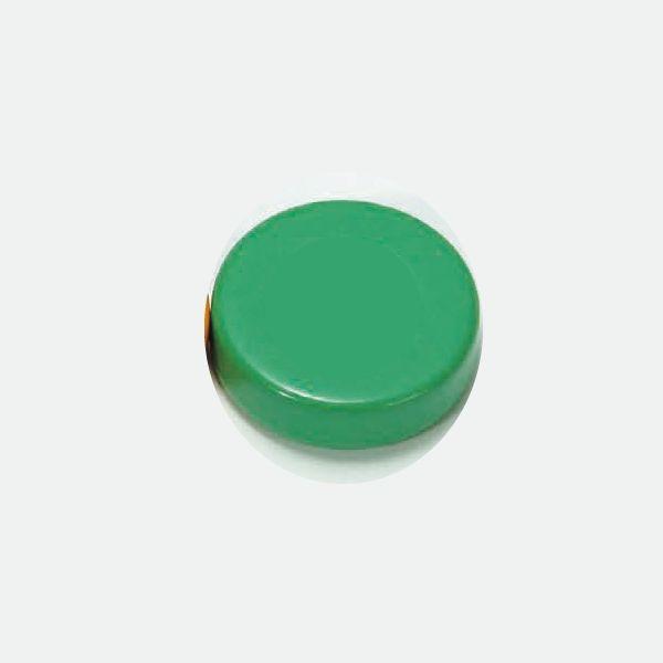 カラーマグネット フェライト磁石 丸形 ◇限定Special Price 手数料無料 緑 DJ-0425