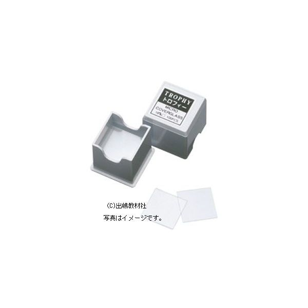 カバーグラス カバーガラス デッキグラス メーカー直送 100枚入 18×18mm デポー