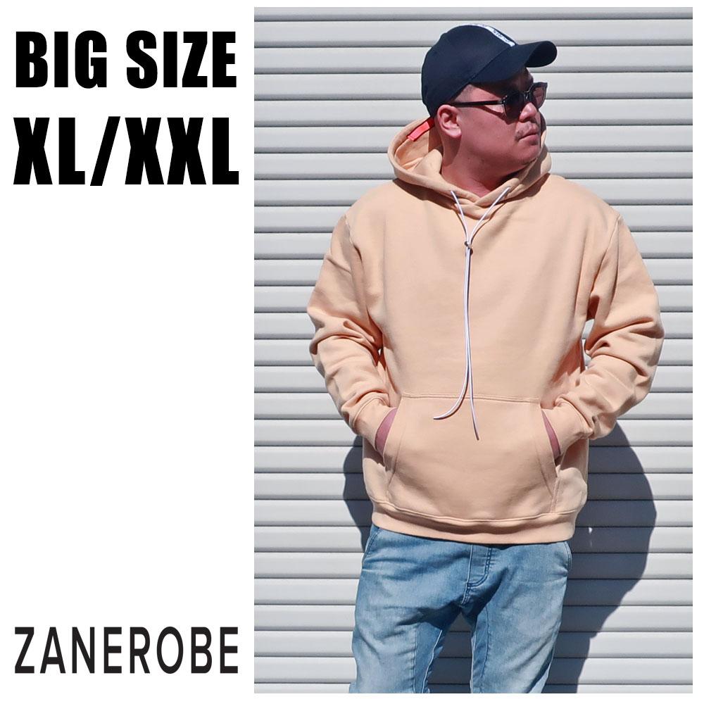 ZANEROBE ゼンローブ 送料無料 大きいサイズ メンズ ブランド パーカー XL XXL 2L 3L アウター イエロー マンゴー プルオーバー スウェット スエット ビックシルエット 秋 冬 春 インポート 海外ブランド 国内正規品