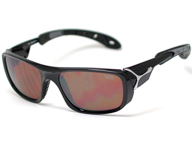 セベ 선글라스 ICE 아이스 (CB048920006) 샤이니 블랙/브라운 AR Category: 4 및 후면 반사 방지 코트를 갖춘 미네랄 IR 렌즈 채택!