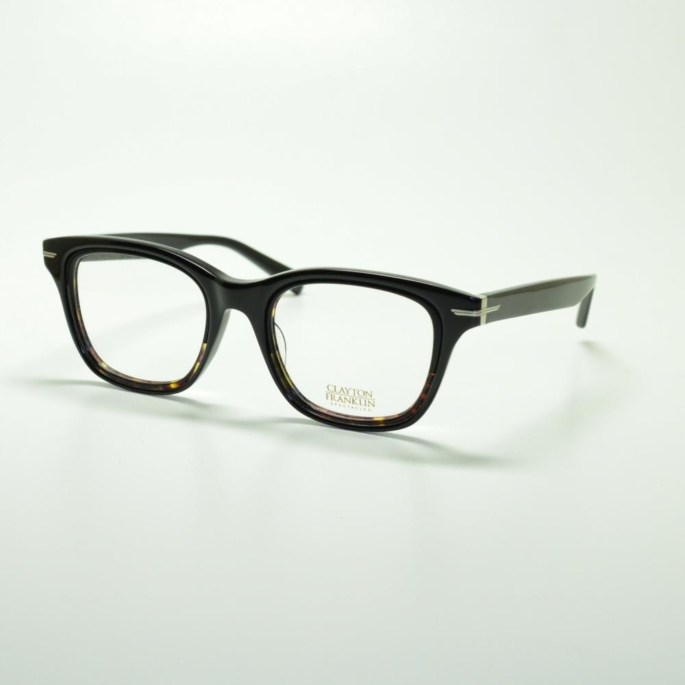 CLAYTON FRANKLIN クレイトンフランクリン 765 BK/BKDHメガネ 眼鏡 めがね メンズ レディース おしゃれ ブランド 人気 おすすめ フレーム 流行り 度付き レンズ