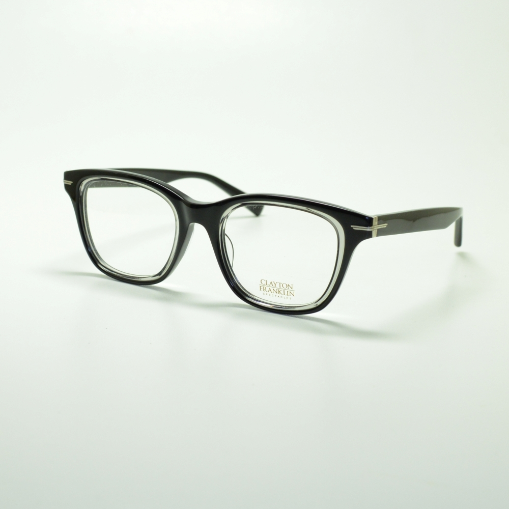 CLAYTON FRANKLIN クレイトンフランクリン 765 BK/GRメガネ 眼鏡 めがね メンズ レディース おしゃれ ブランド 人気 おすすめ フレーム 流行り 度付き レンズ