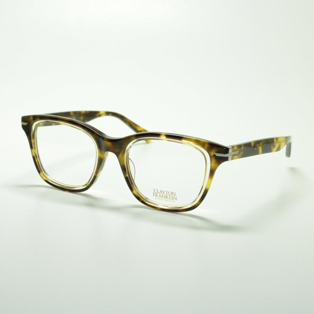 CLAYTON FRANKLIN クレイトンフランクリン 765 BT/LAメガネ 眼鏡 めがね メンズ レディース おしゃれ ブランド 人気 おすすめ フレーム 流行り 度付き レンズ