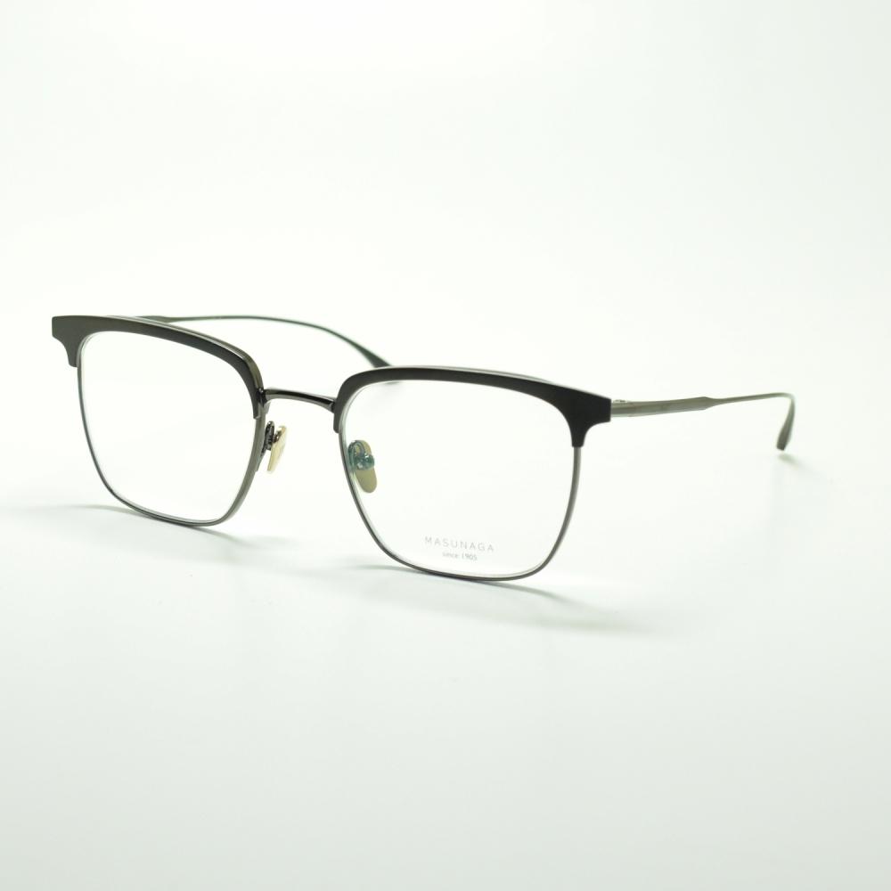 MASUNAGA since 1905 COLLINS col-39 BK/BKメガネ 眼鏡 めがね メンズ レディース おしゃれ ブランド 人気 おすすめ フレーム 流行り 度付き レンズ