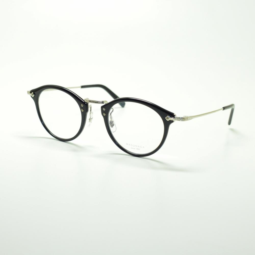 MASUNAGA GMS-805 col-B11 NAVY/SLVメガネ 眼鏡 めがね メンズ レディース おしゃれ ブランド 人気 おすすめ フレーム 流行り 度付き レンズ