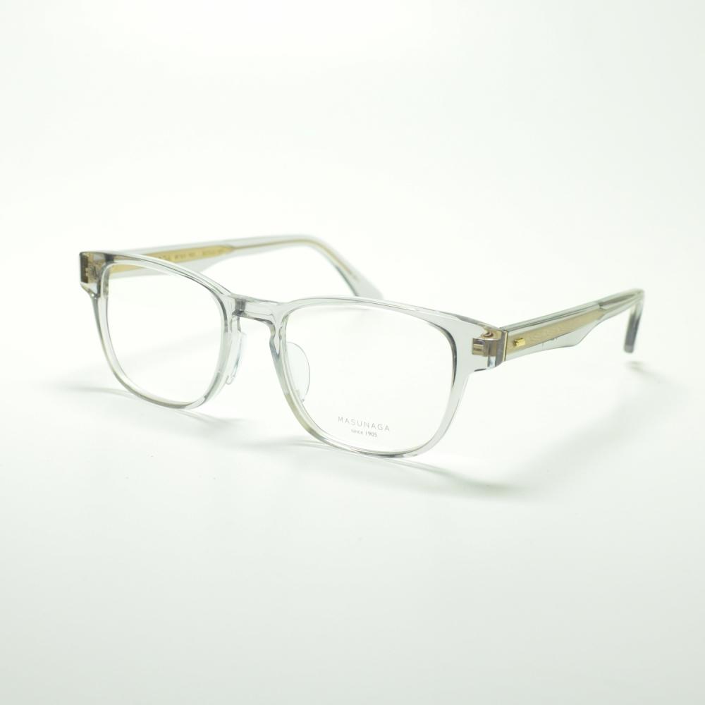 MASUNAGA 光輝 063 col-54 GRYメガネ 眼鏡 めがね メンズ レディース おしゃれ ブランド 人気 おすすめ フレーム 流行り 度付き レンズ