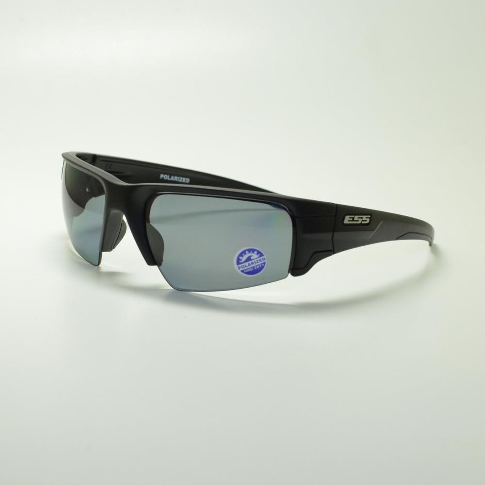 ESS イーエスエス CROWBAR POLARIZED クロウバー ポラライズド ブラック/偏光ミラーグレイメガネ 眼鏡 めがね メンズ レディース おしゃれ ブランド 人気 おすすめ フレーム 流行り 度付き レンズ サングラス