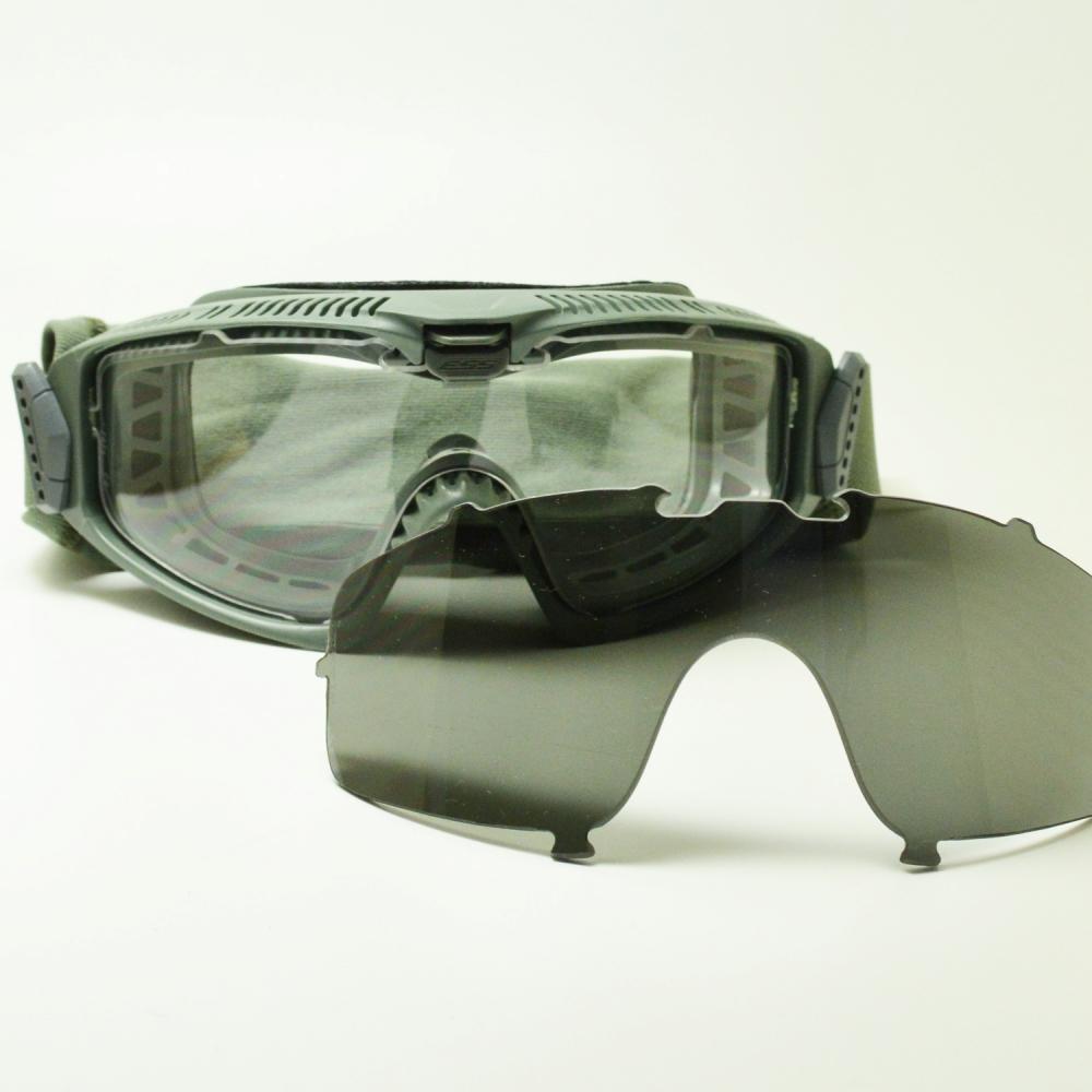 ESS イーエスエス INFLUX インフラックス EE-7018-08 フォリアージグリーン/クリア/スモークグレーメガネ 眼鏡 めがね メンズ レディース おしゃれ ブランド 人気 おすすめ フレーム 流行り 度付き レンズ サングラス
