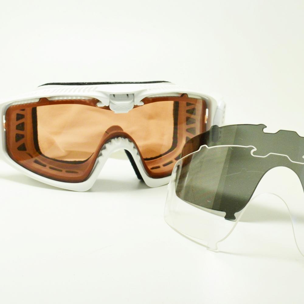 ESS イーエスエス INFLUX インフラックス EE-7018-11 マットホワイト/クリア/スモークグレー/アルペングローメガネ 眼鏡 めがね メンズ レディース おしゃれ ブランド 人気 おすすめ フレーム 流行り 度付き レンズ サングラス