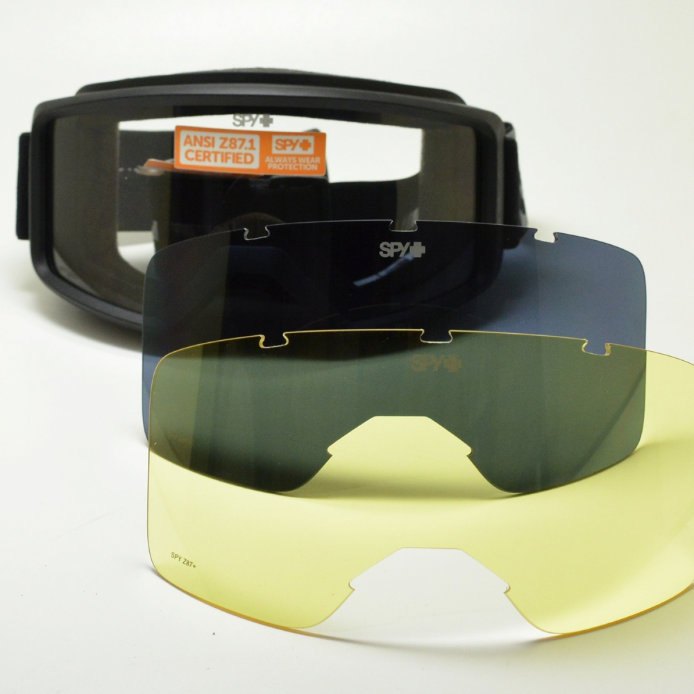 SPY スパイ SHILD シールド マットブラック/クリア/グレー/イエローメガネ 眼鏡 めがね メンズ レディース おしゃれ ブランド 人気 おすすめ フレーム 流行り 度付き レンズ サングラス