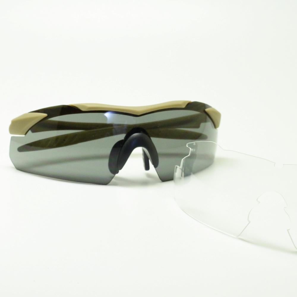 WILEY X ワイリーエックス WX VAPOR ダブルエックスヴェイパー WXJ-3511-2 タン/スモークグレー/クリアメガネ 眼鏡 めがね メンズ レディース おしゃれ ブランド 人気 おすすめ フレーム 流行り 度付き レンズ サングラス