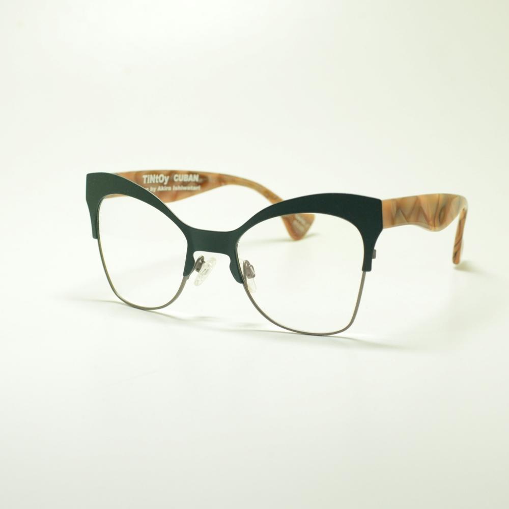 TINTOY ティントーイ CUBAN キューバン MARBLEメガネ 眼鏡 めがね メンズ レディース おしゃれ ブランド 人気 おすすめ フレーム 流行り 度付き レンズ