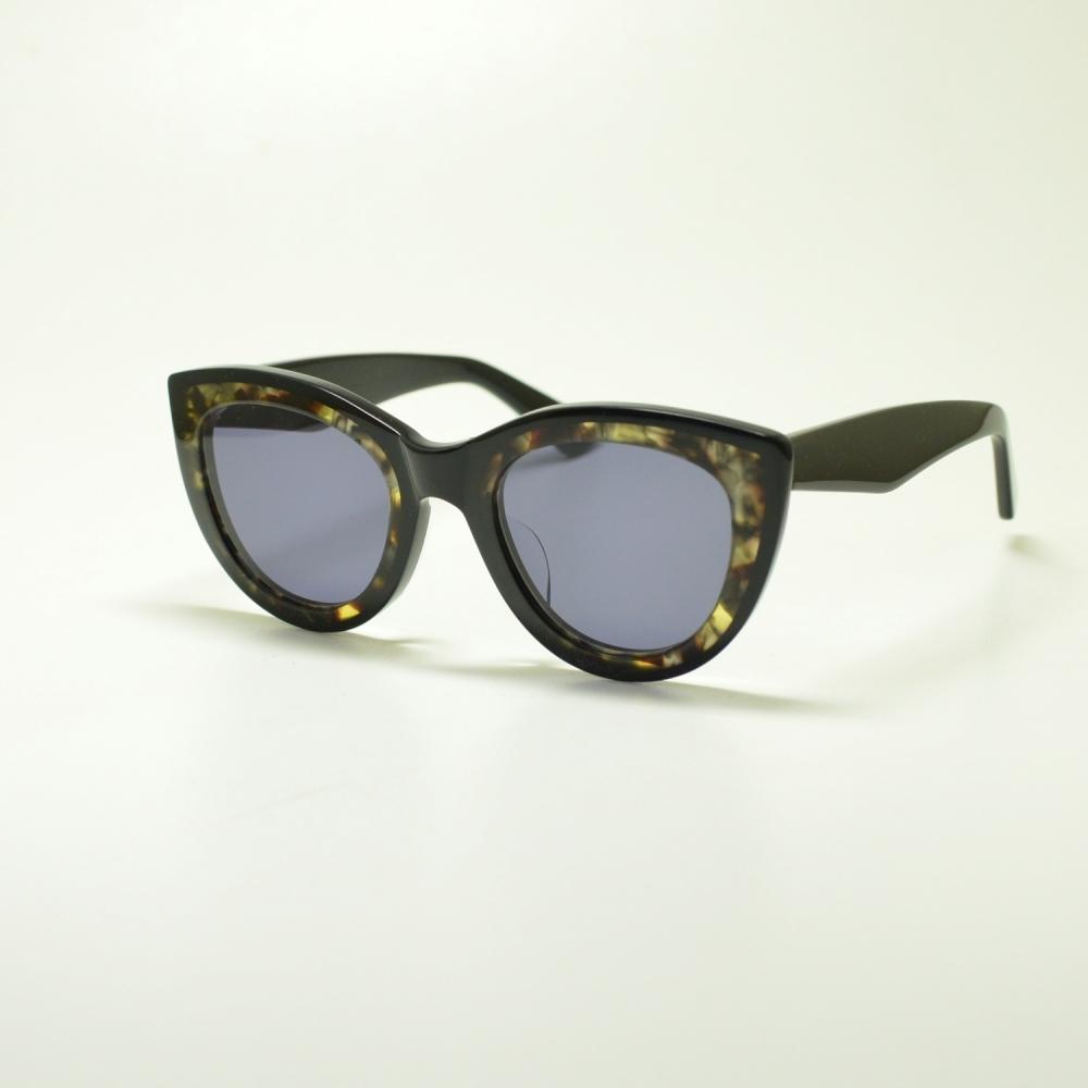 A.D.S.R エーディーエスアール LAURYN ローリン col-2 ブラック&ハバナイエロー/グレーメガネ 眼鏡 めがね メンズ レディース おしゃれ ブランド 人気 おすすめ フレーム 流行り 度付き レンズアウトレットSALE価格!!