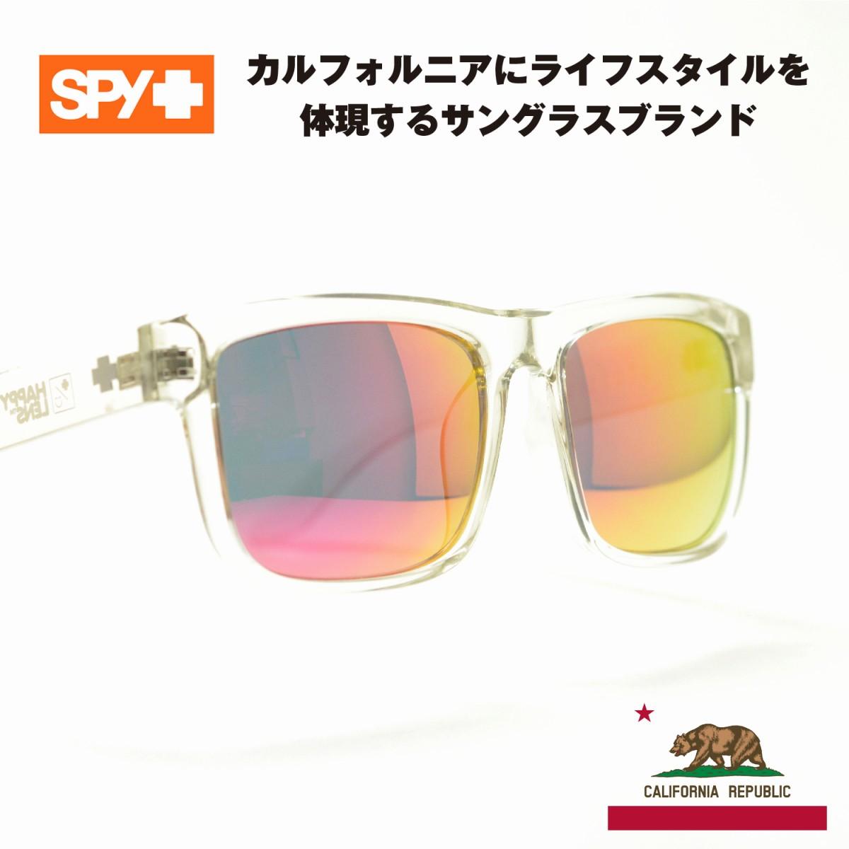 SPY スパイ DISCORD ディスコード クリア/グレーピンクミラーメガネ 眼鏡 めがね メンズ レディース おしゃれ ブランド 人気 おすすめ フレーム 流行り 度付き レンズ サングラス