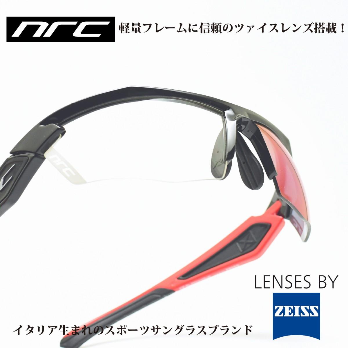 nrc エヌアールシー X5BLOCKHAUS/GRAY RED MIRRORメガネ 眼鏡 めがね メンズ レディース おしゃれ ブランド人気 おすすめ フレーム 流行り 度付き レンズ サングラス
