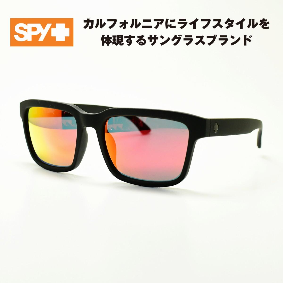 SPY スパイHELM2 ヘルム2(マットブラック/グレーグリーン レッドミラー)