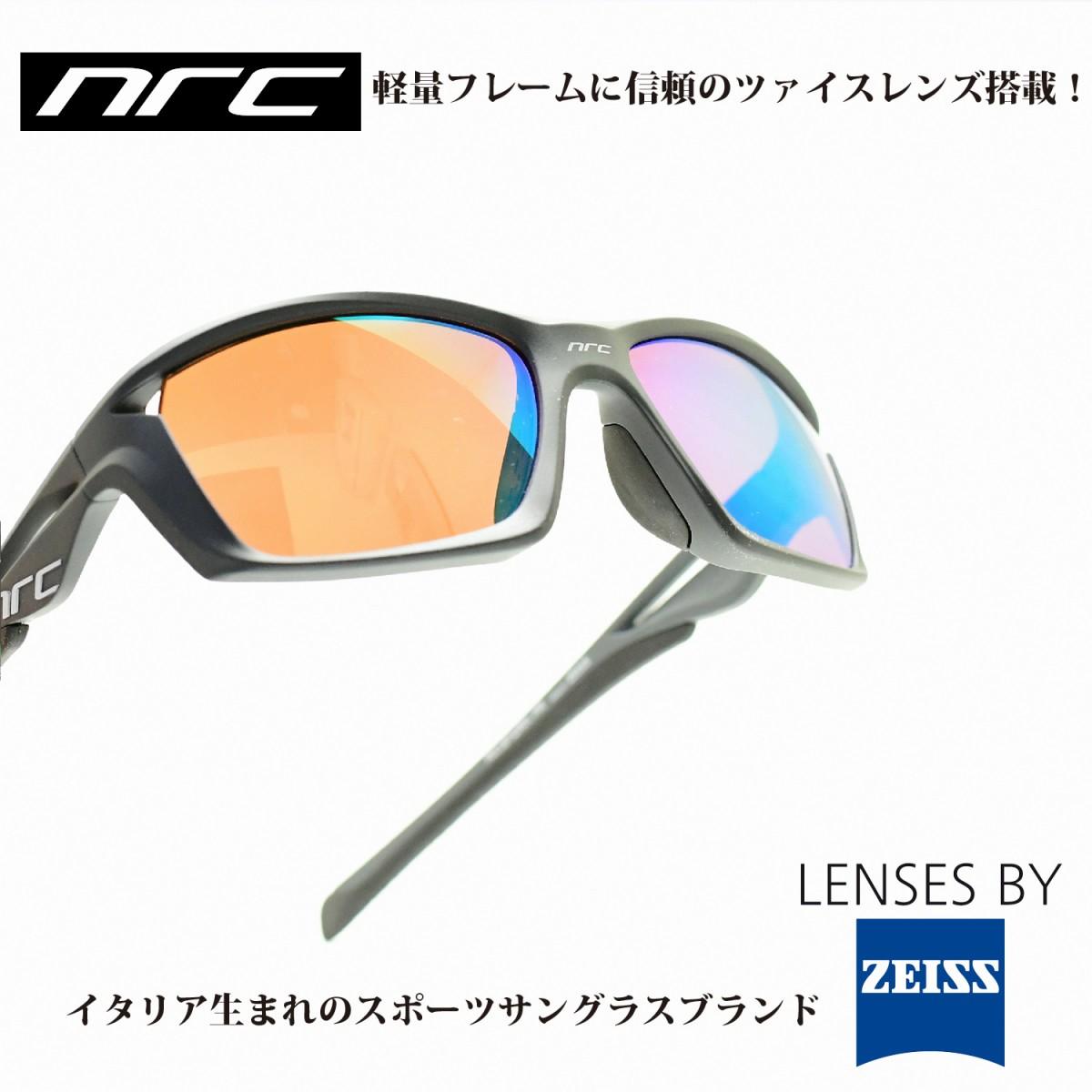 nrc エヌアールシーRX1 STORM PR(偏光レンズ)メガネ 眼鏡 めがね メンズ レディース おしゃれ ブランド 偏光人気 おすすめ フレーム 流行り 度付き レンズ サングラス スポーツ