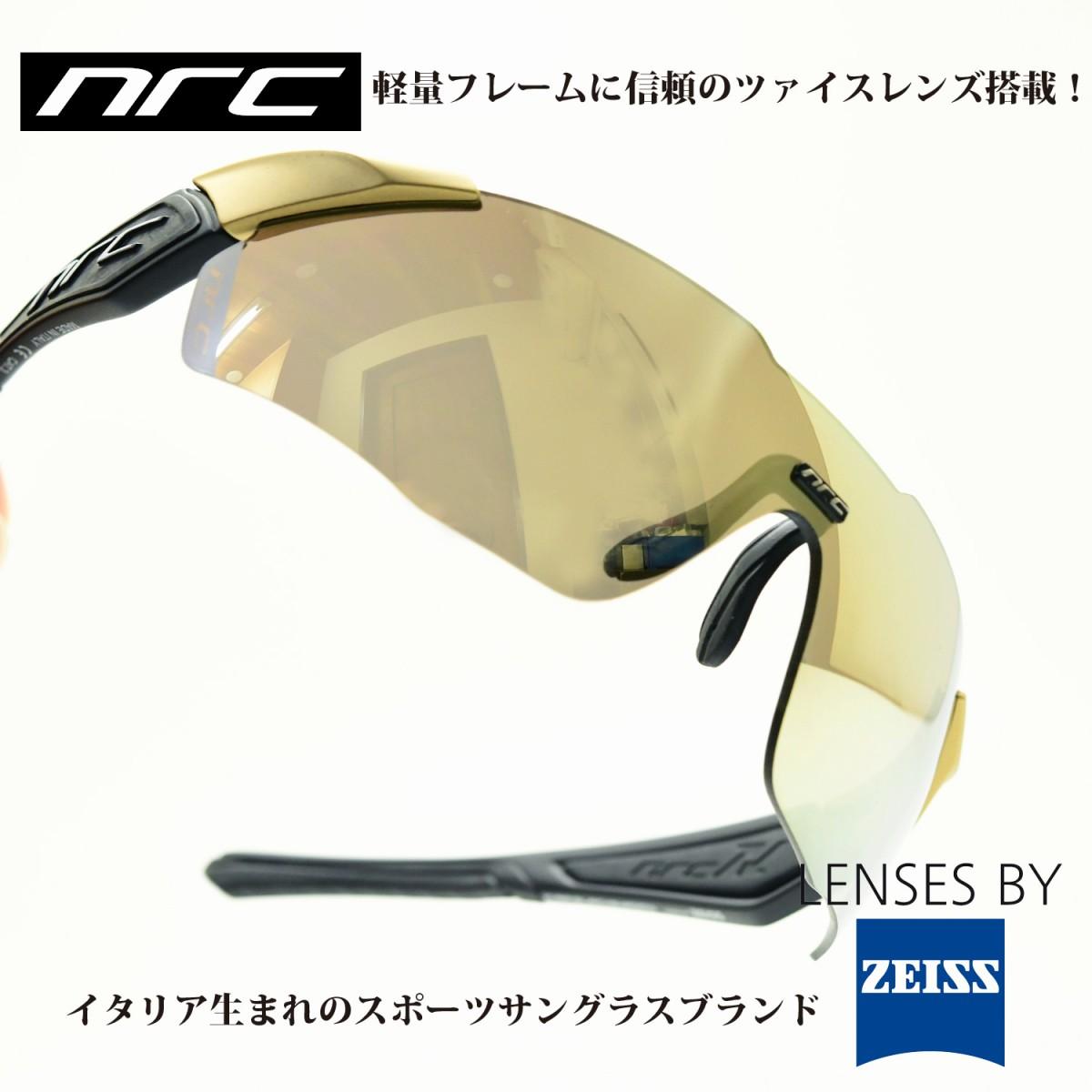 nrc エヌアールシー X1RR黒SHADOW/褐色 ゴールド MIRRORメガネ 眼鏡 めがね メンズ レディース おしゃれ ブランド人気 おすすめ フレーム 流行り レンズ サングラス