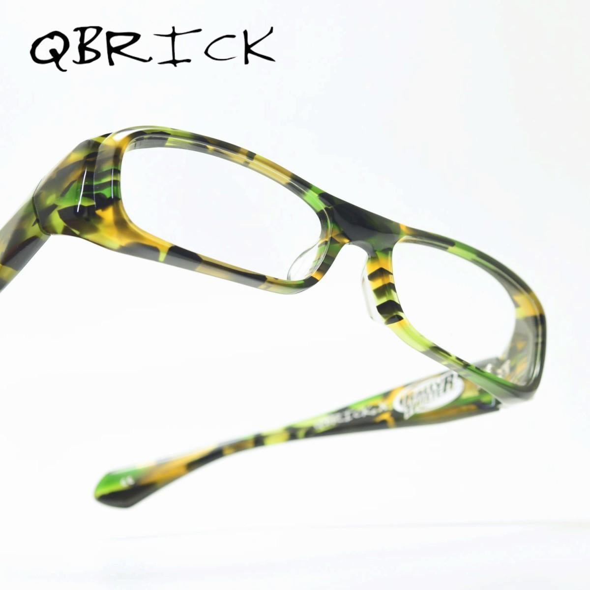 QBRICK キューブリックBTY06RTグリーンカモ/デモレンズ