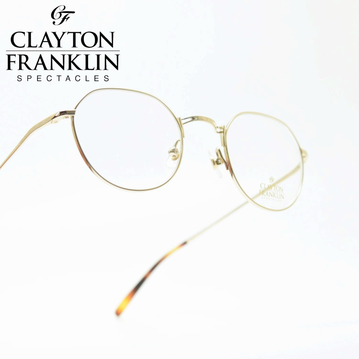 CLAYTON FRANKLIN クレイトンフランクリン645 GP(ゴールド/デモレンズ)