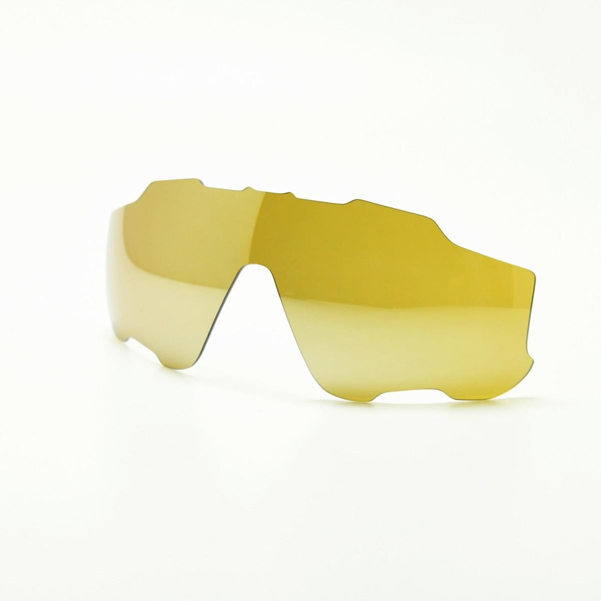 GOODMAN LENS MANUFACTURE グッドマンレンズマニュファクチューOAKLEY JAWBREAKER オークリー ジョーブレーカー用交換レンズ偏光イエロー シルバーミラー ※レンズのみ