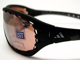 阿迪达斯体育太阳眼镜EVIL EYE ClimaCool(L尺寸)(黑色)