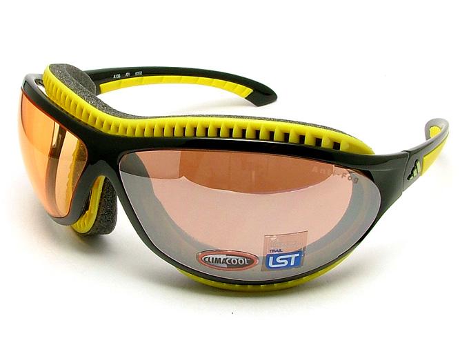 adidas eyeglasses yellow