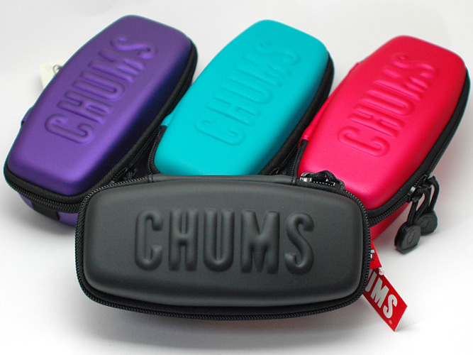 """""""With cleaner cloth' chums sunglasses case"""