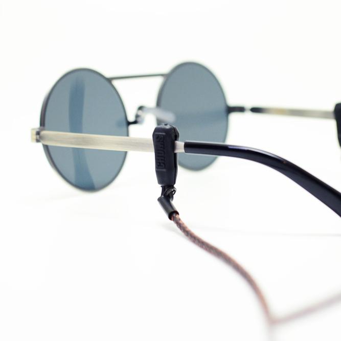 チャムスメガネス 陷阱编织皮革固定器 CH61-0231年) ブレイデッド 皮革固定玻璃线太阳镜表带镜片表带