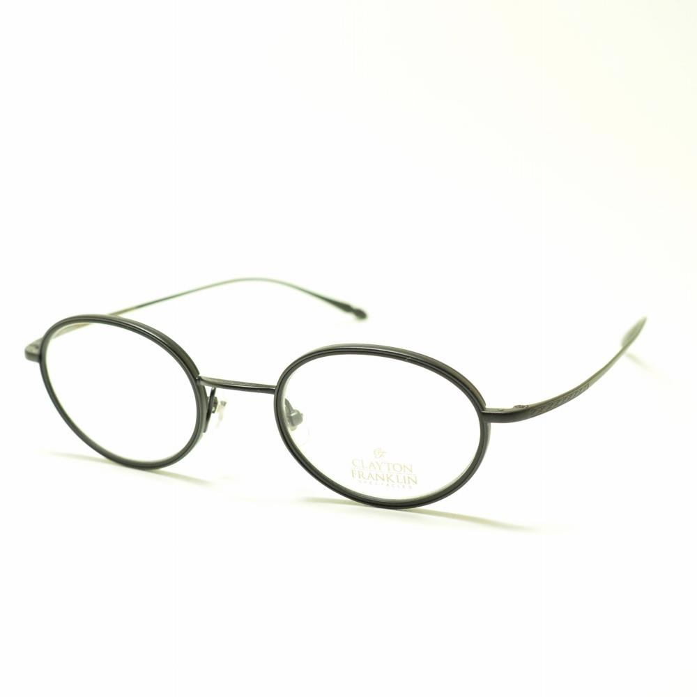 CLAYTON FRANKLIN クレイトンフランクリン 607 MBK/MBK マットブラックメガネ 眼鏡 めがね メンズ レディース おしゃれ ブランド 人気 おすすめ フレーム 流行り 度付き レンズ
