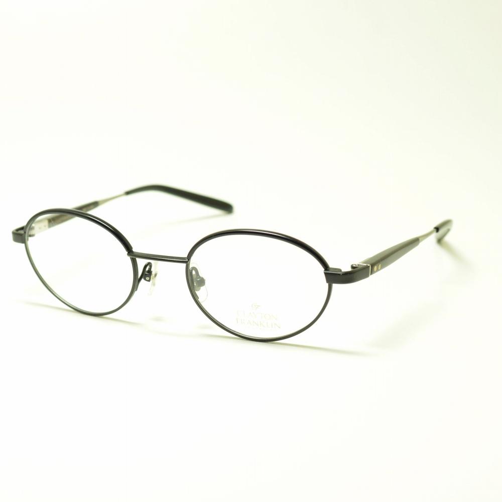 CLAYTON FRANKLIN クレイトンフランクリン 612 MBK マットブラックメガネ 眼鏡 めがね メンズ レディース おしゃれ ブランド 人気 おすすめ フレーム 流行り 度付き レンズ