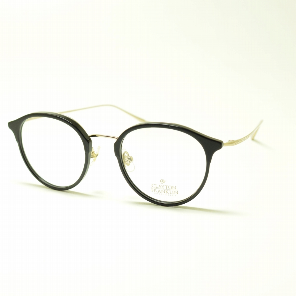CLAYTON FRANKLIN クレイトンフランクリン 616 BK ブラックメガネ 眼鏡 めがね メンズ レディース おしゃれ ブランド 人気 おすすめ フレーム 流行り 度付き レンズ