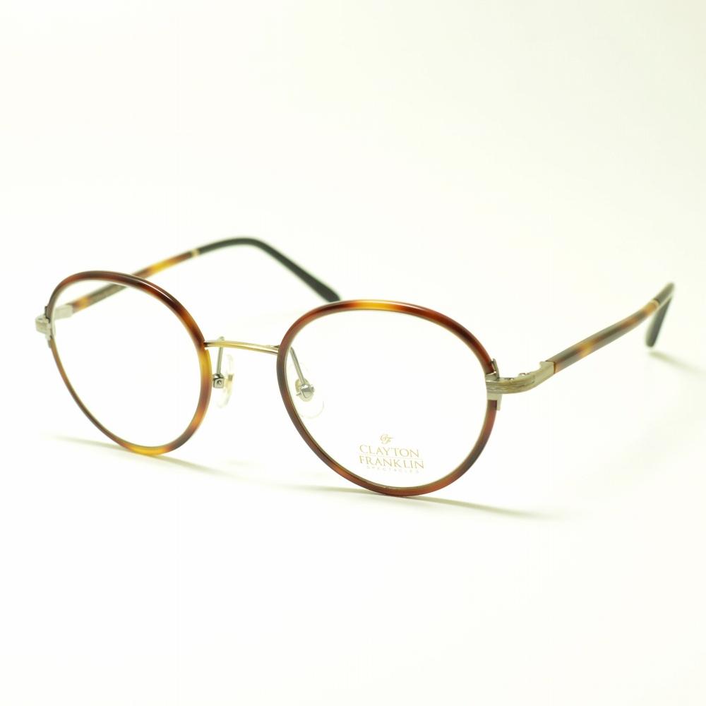 CLAYTON FRANKLIN クレイトンフランクリン 618 DM/BK デミブラウンメガネ 眼鏡 めがね メンズ レディース おしゃれ ブランド 人気 おすすめ フレーム 流行り 度付き レンズ