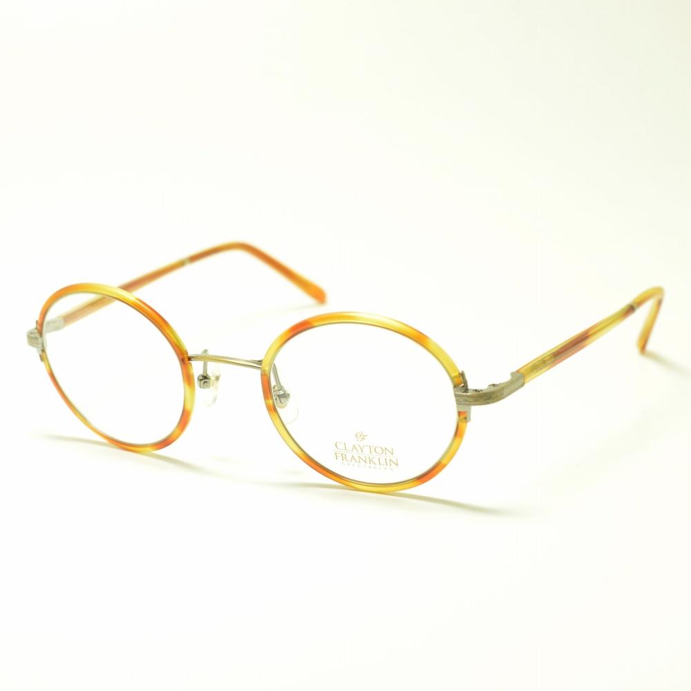 CLAYTON FRANKLIN クレイトンフランクリン 619 AT アンバートートイズメガネ 眼鏡 めがね メンズ レディース おしゃれ ブランド 人気 おすすめ フレーム 流行り 度付き レンズ