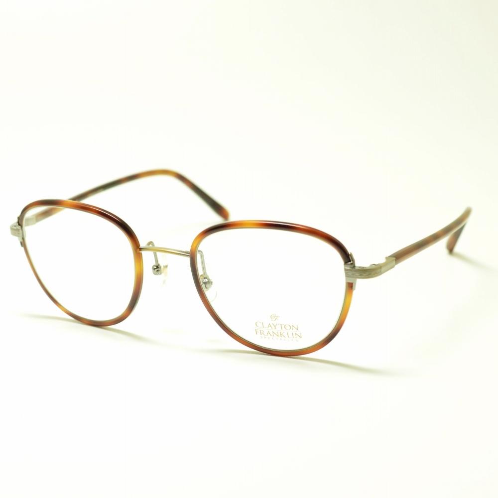 CLAYTON FRANKLIN クレイトンフランクリン 620 DM デミブラウンメガネ 眼鏡 めがね メンズ レディース おしゃれ ブランド 人気 おすすめ フレーム 流行り 度付き レンズ