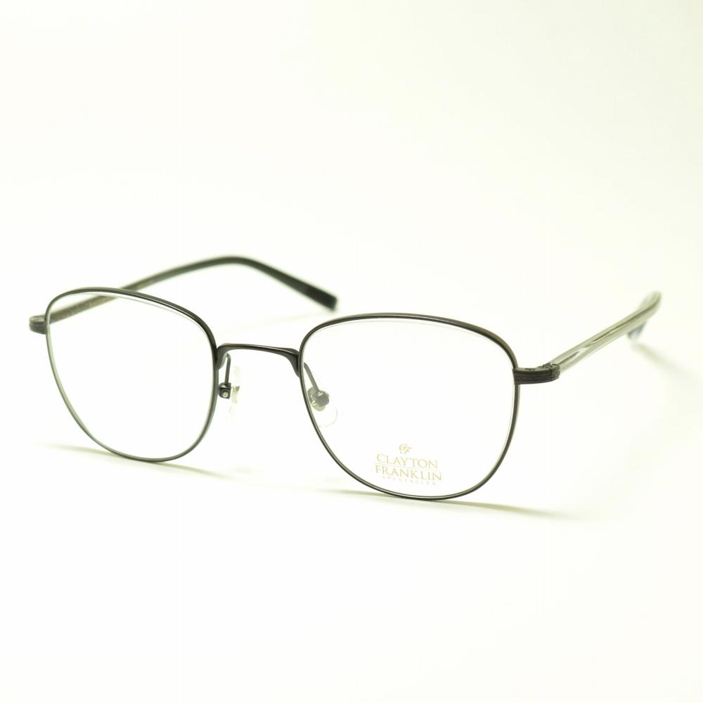 CLAYTON FRANKLIN クレイトンフランクリン 623 MBK マットブラックメガネ 眼鏡 めがね メンズ レディース おしゃれ ブランド 人気 おすすめ フレーム 流行り 度付き レンズ