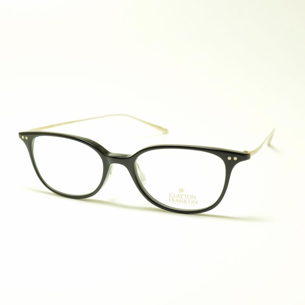 CLAYTON FRANKLIN クレイトンフランクリン 763 BK ブラックメガネ 眼鏡 めがね メンズ レディース おしゃれ ブランド 人気 おすすめ フレーム 流行り 度付き レンズ