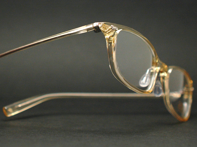 克莱顿富兰克林眼镜框架 CF734 LA (无色或淡黄色 / 兰演示镜头)