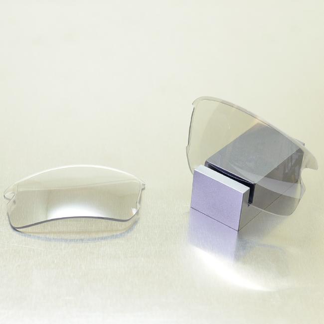 【GOODMAN LENS MANUFACTURE】グッドマンレンズマニュファクチャーOAKLEY FLAKJACKET2.0オークリーフラックジャケット2.0用交換レンズ調光[クリア→グレー]シルバーミラー スタンダードシェイプ(OAKLEY-FLAKJACKET-FJ20-P204)